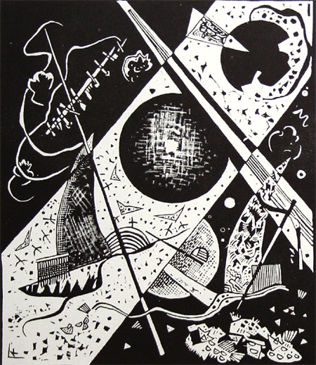Small Worlds VI, 1922 - Wassily Kandinsky