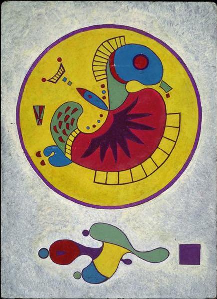 Untitled, c.1944 - Wassily Kandinsky