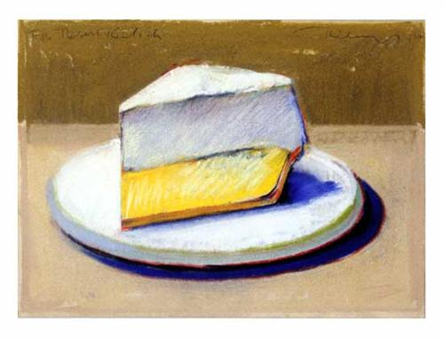 Lemon Meringue Pie - Wayne Thiebaud
