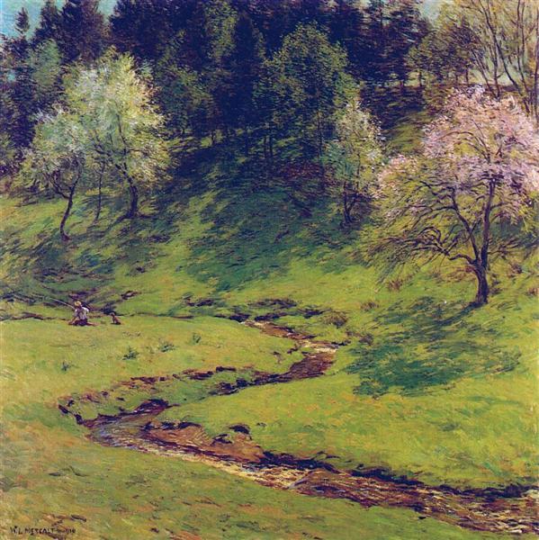 Blossom Time, 1910 - Willard Metcalf