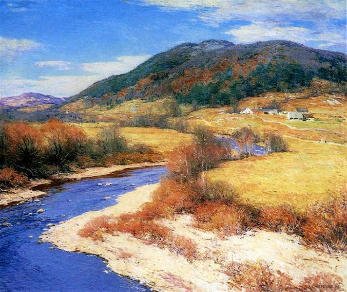 Indian Summer, Vermont, 1922 - Willard Metcalf