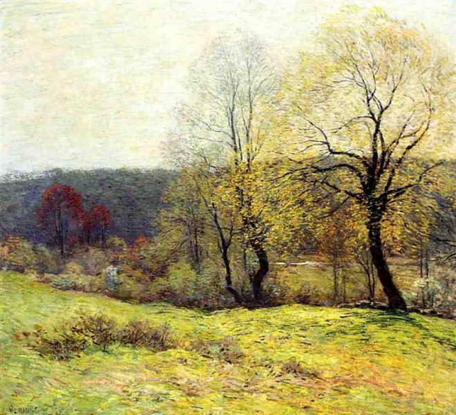 May Pastoral, 1907 - Willard Metcalf