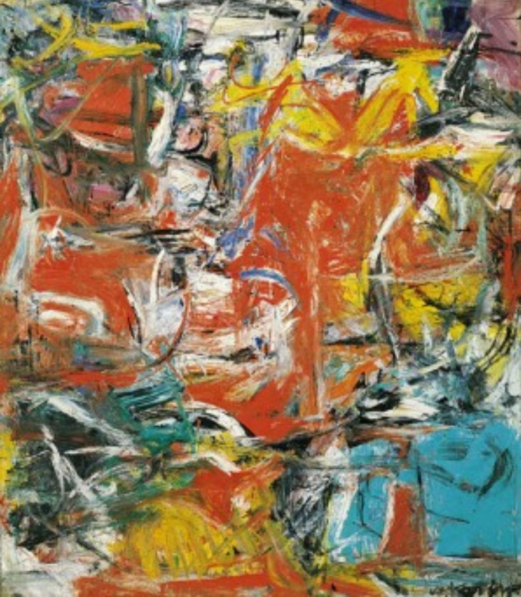 Image result for willem de kooning collage composition