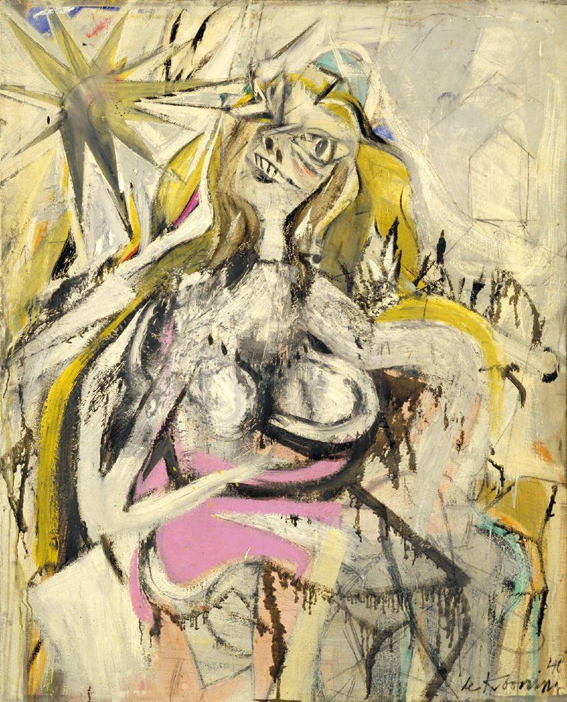 VASTU 220  Figure DrawingWillem De Kooning Abstract Expressionist Paintings