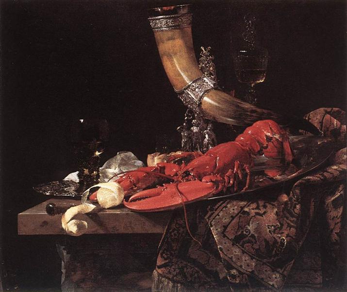Still-Life with Drinking-Horn - Willem Kalf