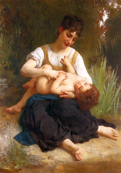Adolphus Child And Teen, 1878 - William-Adolphe Bouguereau