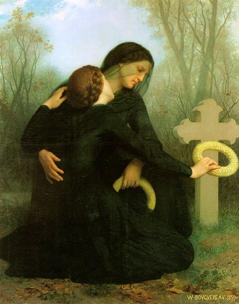 All Saints Day, 1859 - William-Adolphe Bouguereau