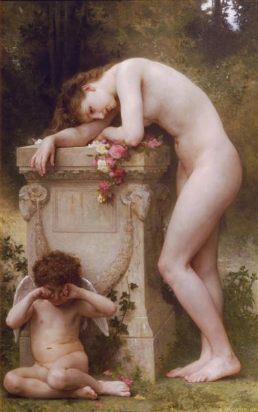 Elegy, 1899 - William-Adolphe Bouguereau