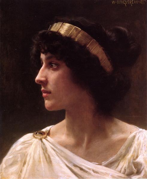 Irene, 1897 - William-Adolphe Bouguereau