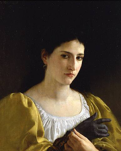 Lady with Glove, 1870