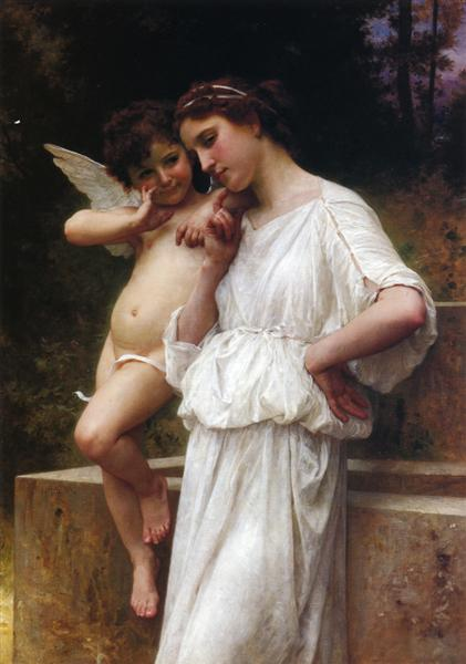 Love`s Scerets, 1896 - William-Adolphe Bouguereau