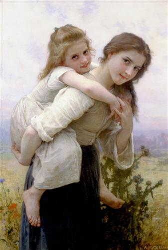 Pleasant Burden - William-Adolphe Bouguereau