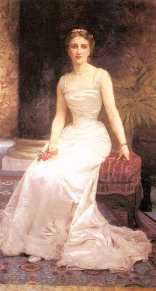 Portrait of Madame Olry Roederer, 1900 - William-Adolphe Bouguereau