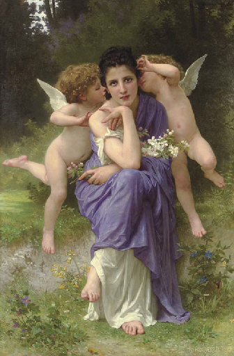 Songs of Spring, 1889 - William Bouguereau