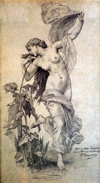 Theaurora - William-Adolphe Bouguereau