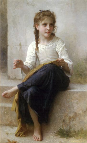 The dressmaker, 1898 - William Bouguereau