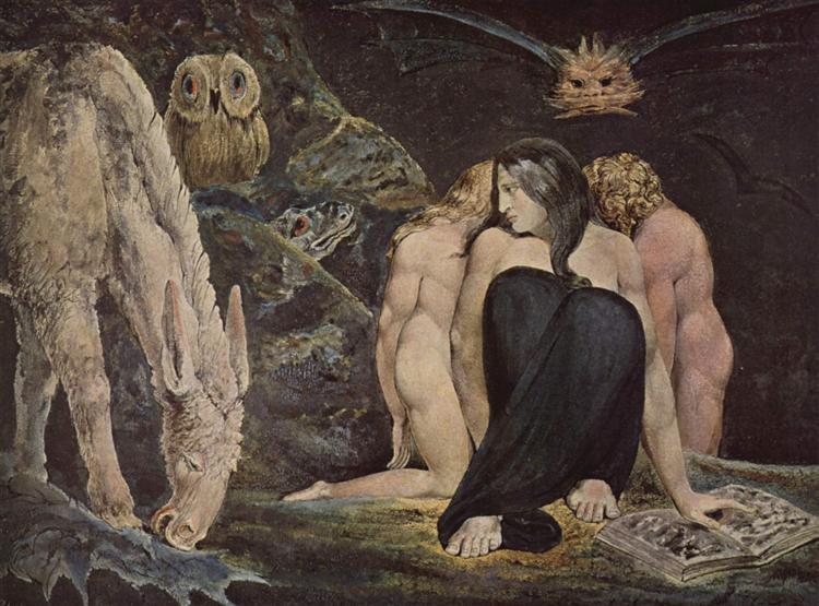 The Night of Enitharmon's Joy, 1795 - William Blake