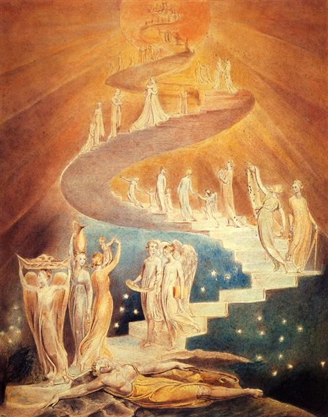 Jacob's Ladder, c.1799 - c.1806 - William Blake