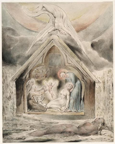 The Night of Peace, 1815 - William Blake
