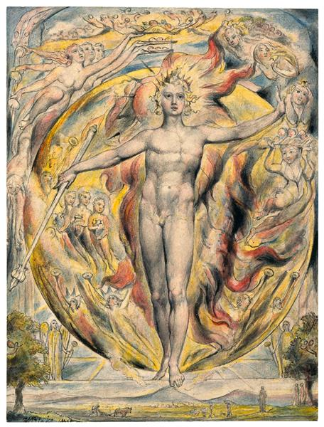 The Sun at His Eastern Gate, 1816 - 1820 - William Blake