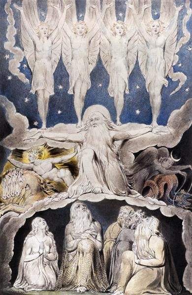 When the Morning Stars Sang Together, 1820 - William Blake