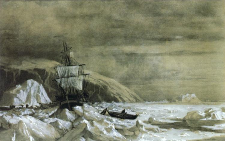 Locked In - Baffin Bay - William Bradford