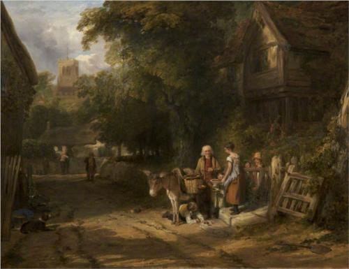 The Cherry Seller  - William Collins