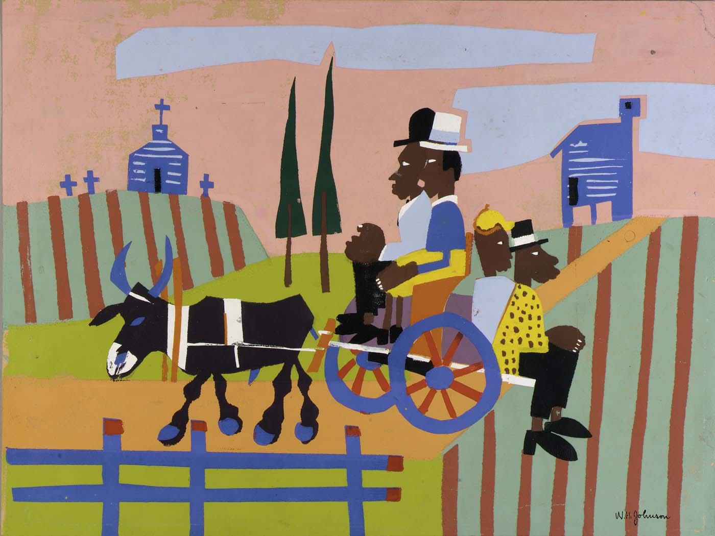 william h johnson But after that period, traditional biblical and religious subjects all but died out of  american art  william h johnson's life combined tragedy and triumph  a  year later, he won a gold medal in an art show in new york, but his luck did not  last.