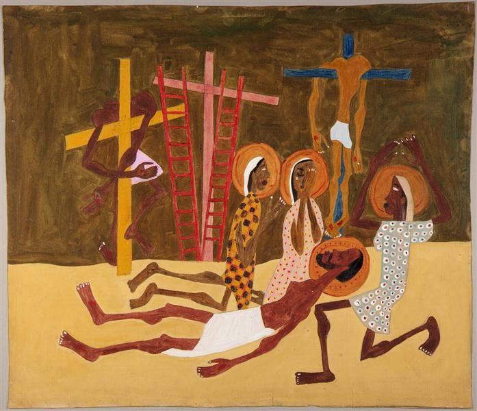 Lamentation, 1944 - William H. Johnson