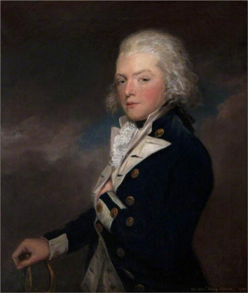 The Honourable, Later Admiral, Henry Curzon (1765–1846), 1787 - William Hamilton