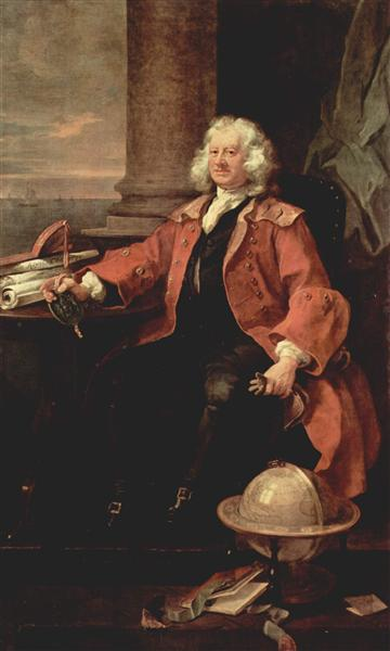 Portrait of Captain Coram, 1740 - William Hogarth