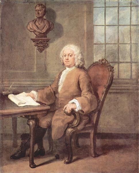 Portrait of Dr. Benjamin Hoadly, c.1738 - William Hogarth