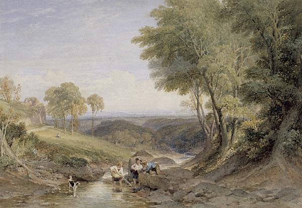 Landscape, 1867 - William Leighton Leitch