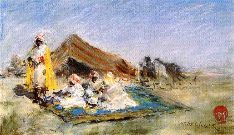 Arab Encampment, 1883 - William Merritt Chase