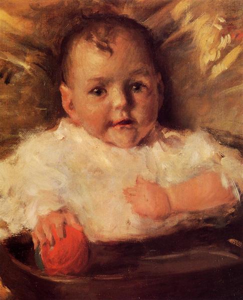 Bobbie, A Portrait Sketch, 1899 - William Merritt Chase