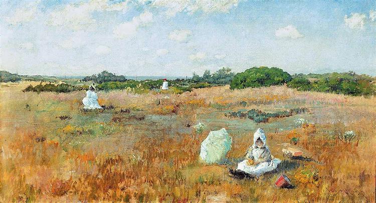 Gathering Autumn Flowers, 1894 - William Merritt Chase