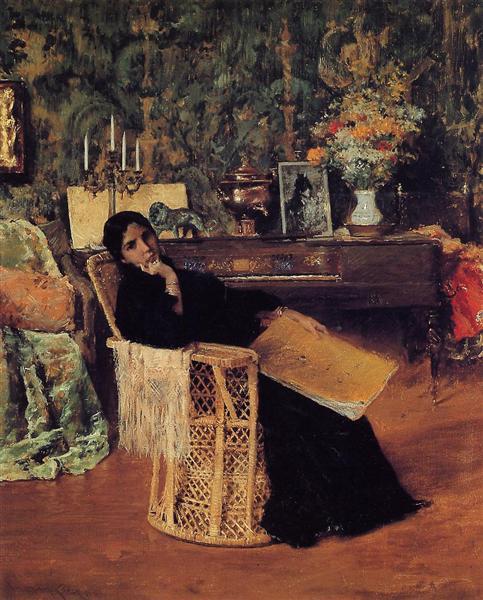 In the Studio, c.1892 - William Merritt Chase