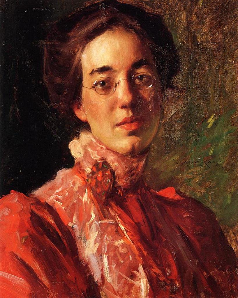 Portrait of Elizabeth (Betsy) Fisher - William Merritt ...