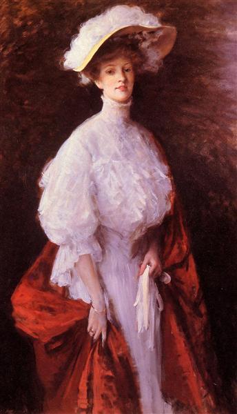 Portrait of Miss Frances, 1905 - William Merritt Chase