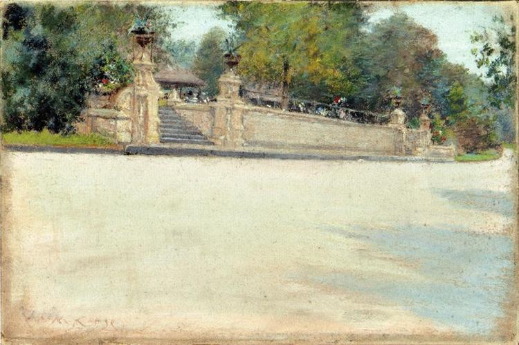 Prospect Park, Brooklyn, c.1889 - William Merritt Chase