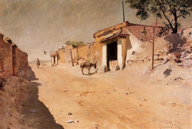 Spanish Village, 1882 - William Merritt Chase