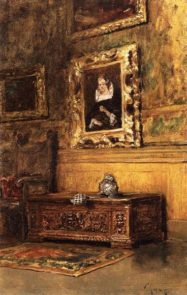 Studio Interior, c.1879 - William Merritt Chase