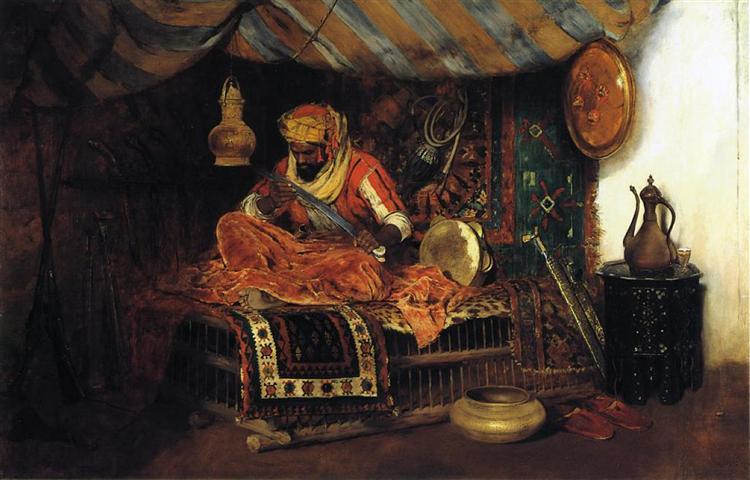The Moorish Warrior, 1876 - William Merritt Chase