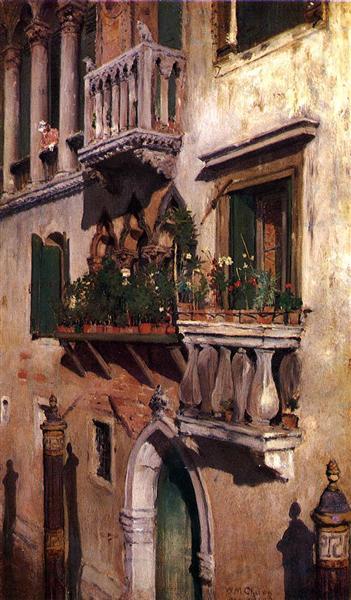 Venice, 1877 - William Merritt Chase