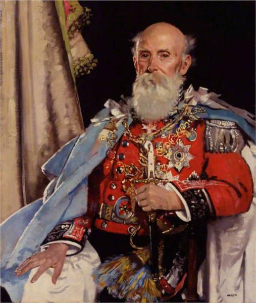Reginald Brabazon, 12th Earl of Meath, 1929 - William Orpen