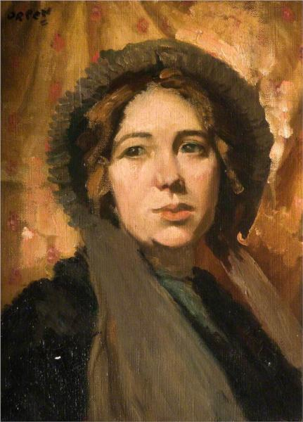 The New Bonnet - William Orpen