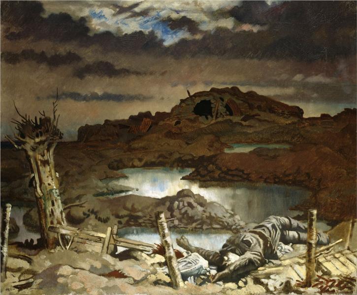 Zonnebeke, 1918 - William Orpen