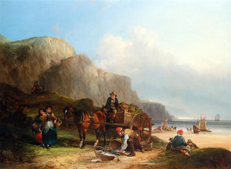 Scene in the Isle of Wight, 1823 - William Shayer