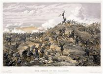 The Attack on the Malakoff - William Simpson