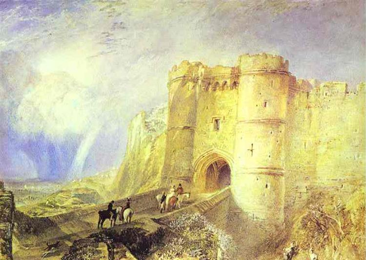 Carisbrook Castle, Isle of Wight, c.1828 - J.M.W. Turner